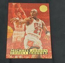 Michael Jordan 1995-96 Fleer Ultra Gold Medallion Edition Double Trouble Card #3