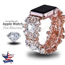 Crystal Rhinestone Diamond Watch Band Belt Strap For Apple Watch Iwatch Bracelet