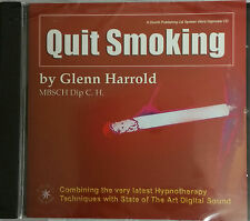 QUIT SMOKING - STOP SMOKING by GLENN HARROLD - WORD SPOKEN HYPNOSIS CD
