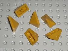 LEGO PearlGold slope brick ref 3048 / set 7094 7627 8823 7327 7036 8822 7041 ...
