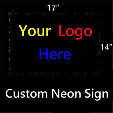 "New Custom Logo Neon Sign 19""x15""  Ship from USA"