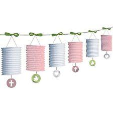 Amscan Lanterne de Papier internationale Guirlande Rose