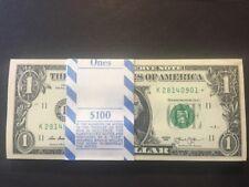 uncirculated BEP 2013 $1 100 consecutive star notes DALLAS  DISTRICT