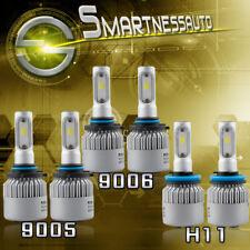 9005 H11 9006 LED Headlight 600W 60000LM For Chevrolet Silverado 1500 2500 3500