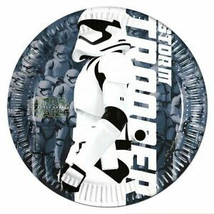 Pack of 8 Star Wars Paper Party Plates