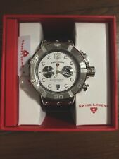 NEW Swiss Legend Triton Chronograph Silver Dial Watch SL-10719SM-02S