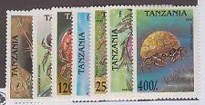 TANZANIA #1295-#1302 MINT SET & SOUVENIR SHEET