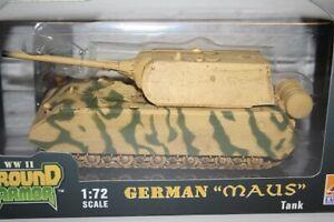 Easy Model 36204 - 1/72 WWII Deutscher Panzer Maus - War USed - Neu