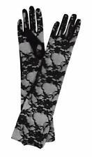 Black Lace Elbow Lenght Gloves - Leg Avenue G1850 Gloves