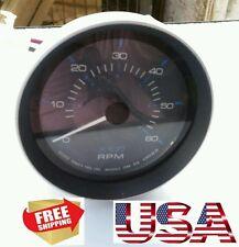 NEW Thomas G Faria A-1423-60-20 6000RPM TACHOMETER TACH GAUGE US MARINE FREESHIP