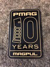 Magpul PMag 10 Years Tactical Vinyl Sticker Decal OEM Original
