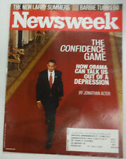 Newsweek Magazine Barack Obama The New Larry Summers March 2009 052615R