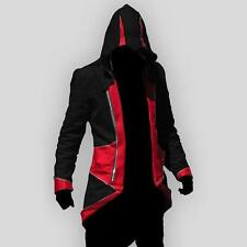 Men's Coat Costume Cosplay For Assassins Jacket Cool Stylish Coat  Hoodie
