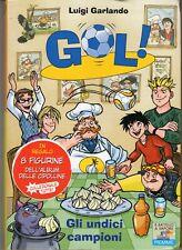 GOL! N. 33 GLI UNDICI CAMPIONI LUIGI GARLANDO PIEMME JUNIOR  CON FIGURINE