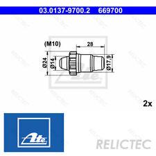Parking Brake Shoes Fitting Kit Accessory for BMW VW Porsche Peugeot Audi
