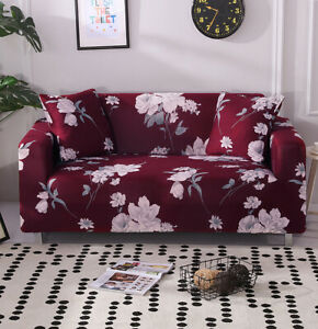 Printed sofa covers Stretch Chair Couch Cover Slipcover Protector 1/2/3/4 Seater