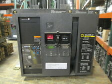 Sq D MP12H2 Masterpact Breaker 1200A 3P 600V EO/DO STR58U W/ LSI Used E-Ok
