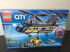 LEGO 60093 City Deep Sea Exploration HELICOPTER *Brand New* SEALED Ships 4 Xmas