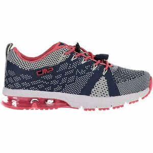 CMP Trainers Sport Shoes Kids Knit Fitness Shoe Dark Blue Breathable Lightweight