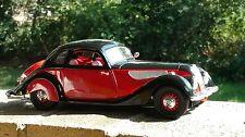 Guiloy 1937 BMW 327 Coupe Top Line Miniatures 1:18 Scale Diecast Model Car
