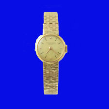 Mint 18k Gold Ladies Patek Philippe Bracelet Wrist Watch 1977