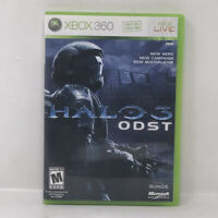 Halo 3 ODST - Xbox 360 Game - Complete With Manual Free Shipping Game Tested