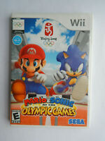 Mario & Sonic at the Olympic Games Game Complete! Nintendo Wii