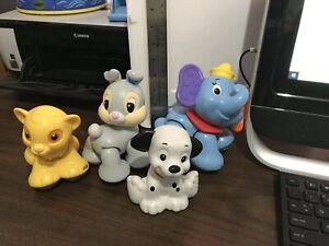 Fisher Price Disney Amazing Animals Baby Toys Dumbo Simba Thumper Dalmation