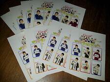 kpop boyband 2pm sticker set Nichkhun JUNSU WOOYOUNG 2yp chanseoung teackyeoun ^