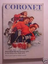 CORONET January 1959 Grand Cayman Island MIDGET RACERS TEACHERS AAGE BERTELSEN +