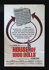 HOUSE OF 1000 DOLLS * CineMasterpieces 1SH ORIGINAL MOVIE POSTER HORROR