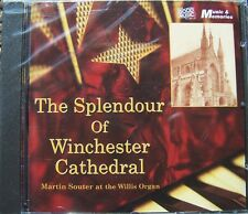 THE SPLENDOUR OF WINCHESTER CATHEDRAL NEW CD MARTIN SOUTER AT THE WILLIS ORGAN