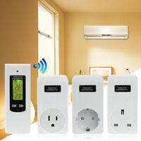 Wireless RF Remote Control Plug in Thermostat Hydroponic KIT Greenhouse 3KW New