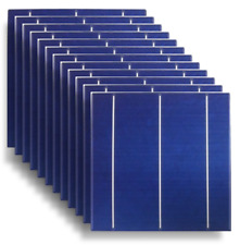 100 6x6 High Efficiency solar cells Sealed DIY over 8 Amps USA