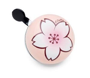 Electra Koi Ding Dong Bell, Fahrradklingel, Fahrrad Glocke, Orchidee, Blume