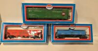 Lot of 3 HO SCALE TRAINS MODEL POWER  USED