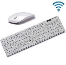 clavier et souris Sans fil pour PC Ordinateur portable Apple Style