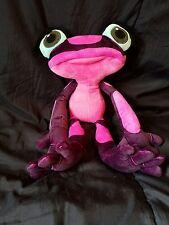 "Kohls Cares For Kids Rio2 Gabi Tree Frog Pink Purple Plush Stuffed Movie Toy 16"""