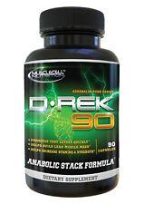 D-REK 90 Testosterone Booster Estrogen & DHT Blockers #1 Legal Steroid DBOL