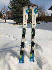 Dynastar Powertrack 4x4 134cm - Beginner/Intermediate Women's Skis with Bindings