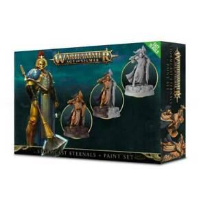 Stormcast Eternals and Paint Set 60-10-60 Games Workshop Warhammer 40K Age of...