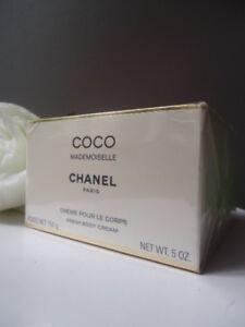 Luxury CHANEL Gift Wrap Coco Mademoiselle BODY CREAM 150g 5oz New Sealed Box