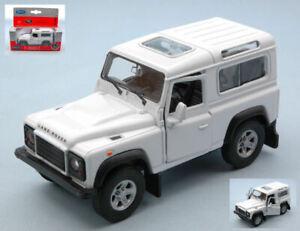 Modellino auto scala 1:32 Welly LAND ROVER DEFENDER RHD diecast jeep modellismo