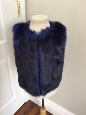 Cdec Blue Faux Vest 4