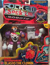 Rock Em Sock Em Robots Robo Tournament Blasto The Clown Robot 2001 Mattel NEW
