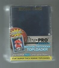 25 Ultra Pro Super Thick RC Gold Rookie 75pt Toploader Card Holders