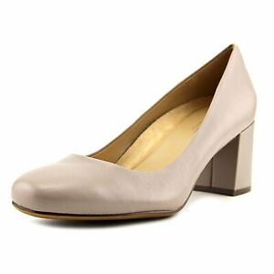 Naturalizer Womens Whitney Leather Closed Toe Classic Pumps, Tan, Size 5.5 ObtB
