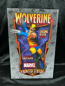 """BOWEN MARVEL AVENGERS X-MEN FANTASTIC 4 """"WOLVERINE"""" ORIGINAL ACTION VERS STATUE"""
