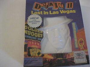 Deja Vu II 2 Lost in Las Vegas Apple II game Factory Sealed
