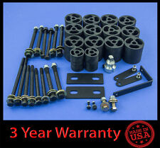 "92-97 Ford F150 F250 F350 2WD/4WD 3"" Full Body Lift kit Front & Rear"